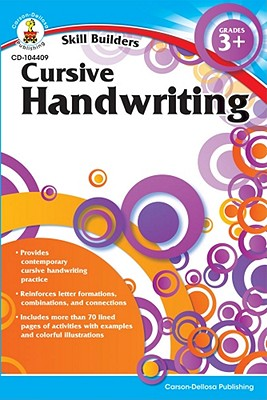 Cursive Handwriting By Carson-dellosa Publishing (COM)